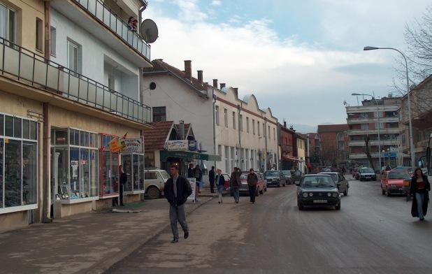 Каменоване две српске куће у центру Витине