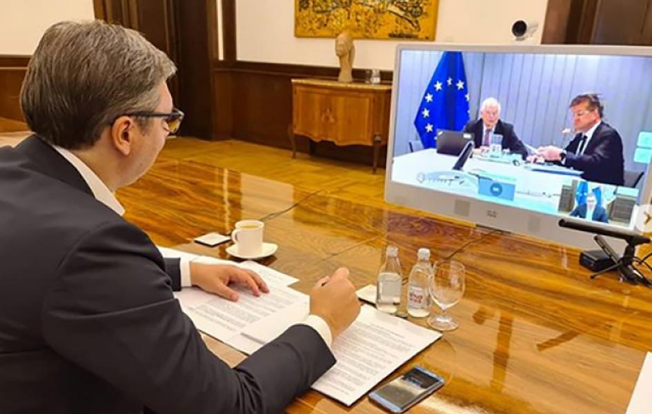 Vučić: Dijalog nastavljen, određene teme za Brisel
