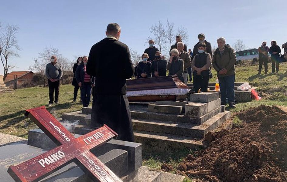 Brestovik: Drugi put sahranjeni posmrtni ostaci Ranka Grujića